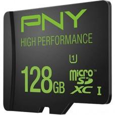 כרטיס זיכרון SDXC איכותי מבית PNY בנפח 128GB